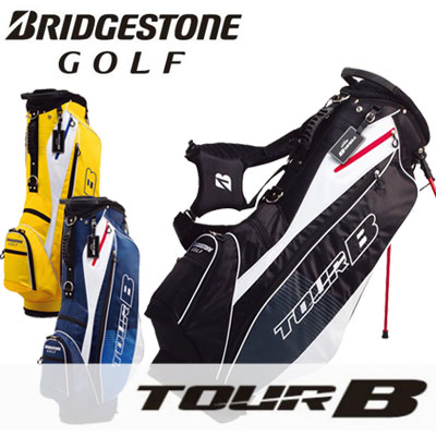 BRIDGESTONE GOLF(ブリヂストン ゴルフ) TOUR B 軽量スタンド キャディバッグ CBG715 =