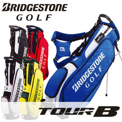 BRIDGESTONE GOLF(ブリヂストン ゴルフ) TOUR B 軽量スタンド キャディバッグ CBG717 =