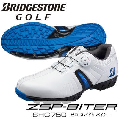 BRIDGESTONE GOLF(ブリヂストン ゴルフ) ゼロ・スパイク バイター メンズ スパイクレス シューズ SHG750 WB =