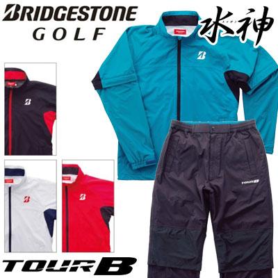 BRIDGESTONE GOLF(ブリヂストン ゴルフ) TOUR B 水神 レインウェア(上下セット) 88G03 =