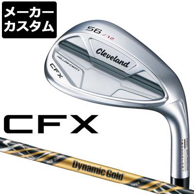 【メーカーカスタム】Cleveland(クリーブランド) CFX ウェッジ Dynamic Gold TOUR ISSUE Design Tuning(ブラック) スチールシャフト