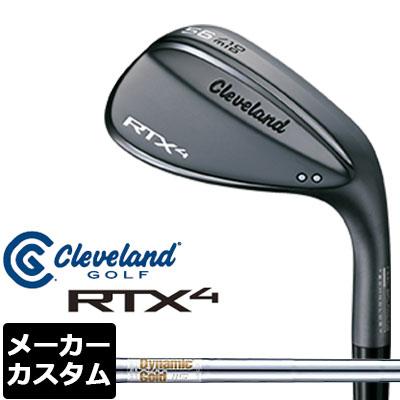 【メーカーカスタム】Cleveland(クリーブランド) RTX4 ブラックサテン ウェッジ Dynamic Gold 115 スチールシャフト