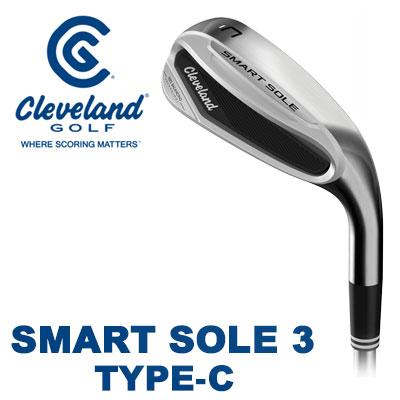 Cleveland GOLF(クリーブランド) SMART SOLE 3 -スマート ソール3- ウェッジ TYPE-C スチールシャフト 日本仕様