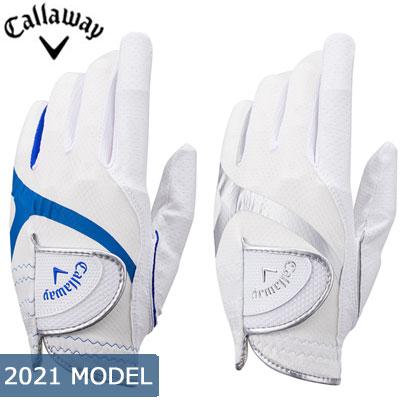 ネコポス発送 2021モデル Callaway キャロウェイ Hyper Cool -ハイパー クール- 左手用 美品 ゴルフ 21 メンズ いよいよ人気ブランド グローブ JM