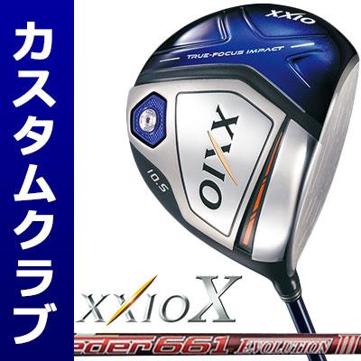 【メーカーカスタム】DUNLOP(ダンロップ) XXIO X -ゼクシオ テン- ドライバー(ネイビーヘッド) Speeder Evolution III カーボンシャフト