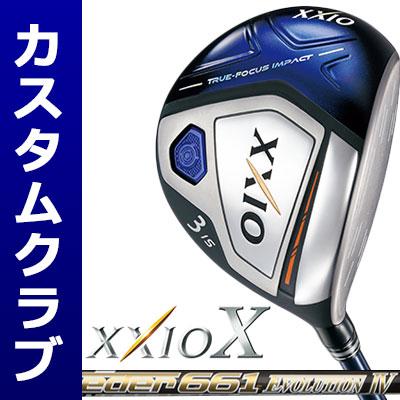 【メーカーカスタム】DUNLOP(ダンロップ) XXIO X -ゼクシオ テン- フェアウェイウッド(ネイビーヘッド) Speeder Evolution IV カーボンシャフト