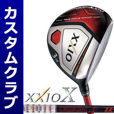 【メーカーカスタム】DUNLOP(ダンロップ) XXIO X -ゼクシオ テン- フェアウェイウッド(レッドヘッド) TourAD IZ-6 カーボンシャフト