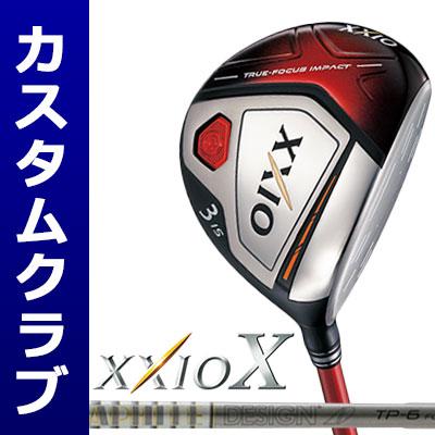 【メーカーカスタム】DUNLOP(ダンロップ) XXIO X -ゼクシオ テン- フェアウェイウッド(レッドヘッド) TourAD TP カーボンシャフト
