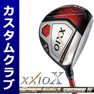 【メーカーカスタム】DUNLOP(ダンロップ) XXIO X -ゼクシオ テン- フェアウェイウッド(レッドヘッド) Speeder Evolution IV カーボンシャフト