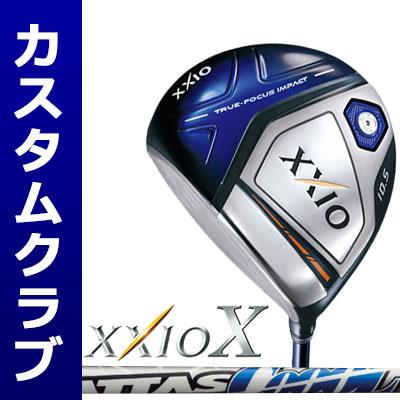 【メーカーカスタム】DUNLOP(ダンロップ) XXIO X -ゼクシオ テン- ドライバー(左用-LEFT HAND-) ATTAS COOOL6 カーボンシャフト