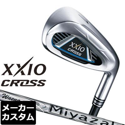 【メーカーカスタム】DUNLOP(ダンロップ) XXIO CROSS -ゼクシオ クロス- アイアン 4本セット(#7-9、PW) Miyazaki Waena カーボンシャフト