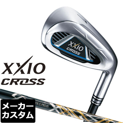 【メーカーカスタム】DUNLOP(ダンロップ) XXIO CROSS -ゼクシオ クロス- アイアン 単品(#5、#6、AW、DW、SW) N.S.PRO 950GH DST Design Tuning(ブラック) スチールシャフト