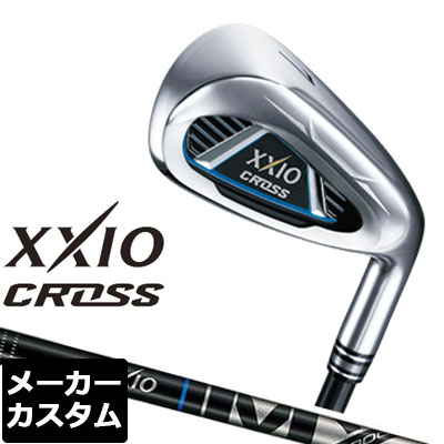 【メーカーカスタム】DUNLOP(ダンロップ) XXIO CROSS -ゼクシオ クロス- アイアン 単品(#5、#6、AW、DW、SW) MX-6000 カーボンシャフト