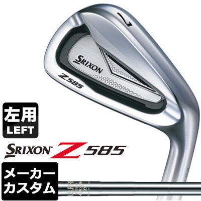 【メーカーカスタム】DUNLOP(ダンロップ) SRIXON -スリクソン- Z 585 【左用】 アイアン 6本セット(#5-PW) N.S.PRO 930GH DST スチールシャフト