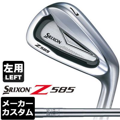 【メーカーカスタム】DUNLOP(ダンロップ) SRIXON -スリクソン- Z 585 【左用】 アイアン 6本セット(#5-PW) N.S.PRO 950GH DST スチールシャフト