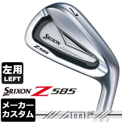 【メーカーカスタム】DUNLOP(ダンロップ) SRIXON -スリクソン- Z 585 【左用】 アイアン 6本セット(#5-PW) AMT TOUR WHITE スチールシャフト