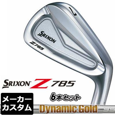 【メーカーカスタム】DUNLOP(ダンロップ) SRIXON -スリクソン- Z 785 アイアン 6本セット(#5-PW) Dynamic Gold 105 スチールシャフト
