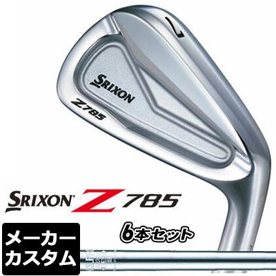 【メーカーカスタム】DUNLOP(ダンロップ) SRIXON -スリクソン- Z 785 アイアン 6本セット(#5-PW) N.S.PRO 950GH DST スチールシャフト
