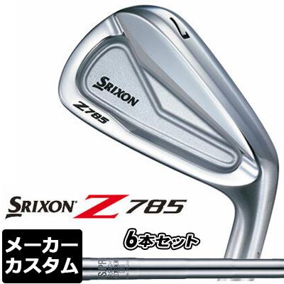 【メーカーカスタム】DUNLOP(ダンロップ) SRIXON -スリクソン- Z 785 アイアン 6本セット(#5-PW) N.S.PRO 980GH DST スチールシャフト