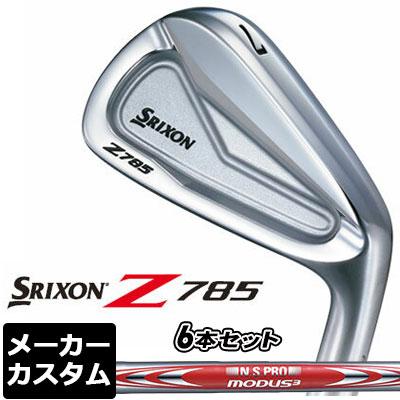 【メーカーカスタム】DUNLOP(ダンロップ) SRIXON -スリクソン- Z 785 アイアン 6本セット(#5-PW) N.S.PRO MODUS3 TOUR105 DST スチールシャフト