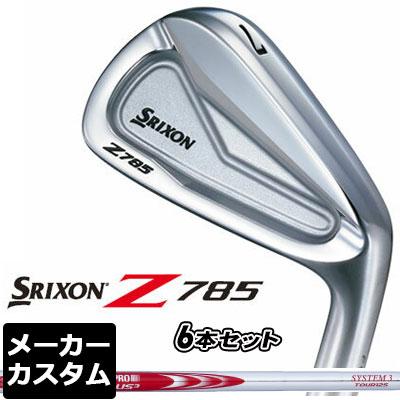【メーカーカスタム】DUNLOP(ダンロップ) SRIXON -スリクソン- Z 785 アイアン 6本セット(#5-PW) N.S.PRO MODUS3 SYSTEM3 TOUR 125 スチールシャフト