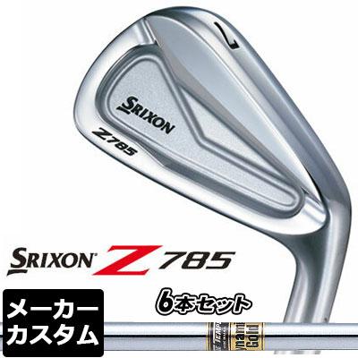 【メーカーカスタム】DUNLOP(ダンロップ) SRIXON -スリクソン- Z 785 アイアン 6本セット(#5-PW) Dynamic Gold スチールシャフト