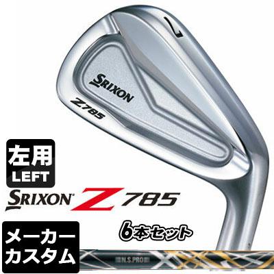 【メーカーカスタム】DUNLOP(ダンロップ) SRIXON -スリクソン- Z 785 アイアン 【左用】 6本セット(#5-PW) N.S.PRO 950GH DST Design Tuning(ブラック) スチールシャフト