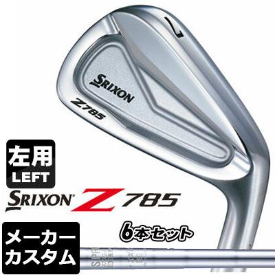 【メーカーカスタム】DUNLOP(ダンロップ) SRIXON -スリクソン- Z 785 アイアン 【左用】 6本セット(#5-PW) N.S.PRO 870GH DST for XXIO スチールシャフト
