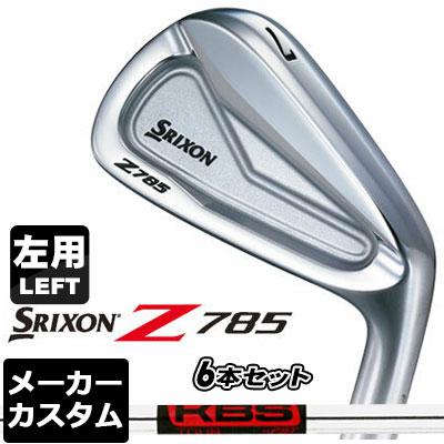 【メーカーカスタム】DUNLOP(ダンロップ) SRIXON -スリクソン- Z 785 アイアン 【左用】 6本セット(#5-PW) KBS TOUR スチールシャフト