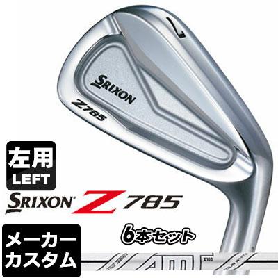 【メーカーカスタム】DUNLOP(ダンロップ) SRIXON -スリクソン- Z 785 アイアン 【左用】 6本セット(#5-PW) AMT TOUR WHITE スチールシャフト