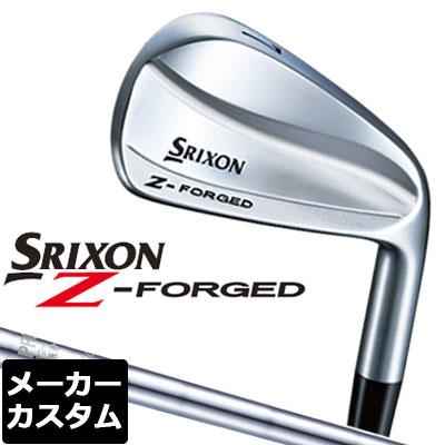 【メーカーカスタム】DUNLOP(ダンロップ) SRIXON -スリクソン- Z FORGED アイアン 6本セット(#5-PW) N.S.PRO 870GH DST for XXIO スチールシャフト