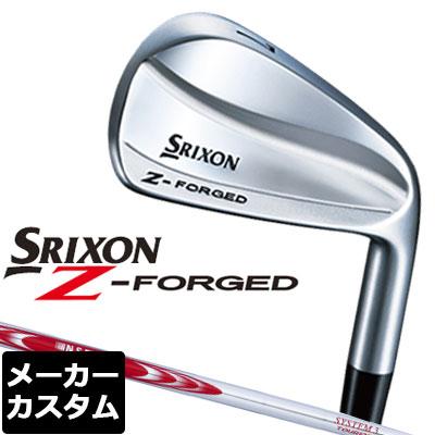【メーカーカスタム】DUNLOP(ダンロップ) SRIXON -スリクソン- Z FORGED アイアン 6本セット(#5-PW) N.S.PRO MODUS3 SYSTEM3 TOUR 125 スチールシャフト
