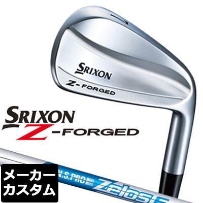 【メーカーカスタム】DUNLOP(ダンロップ) SRIXON -スリクソン- Z FORGED アイアン 6本セット(#5-PW) N.S.PRO ZELOS 6 スチールシャフト