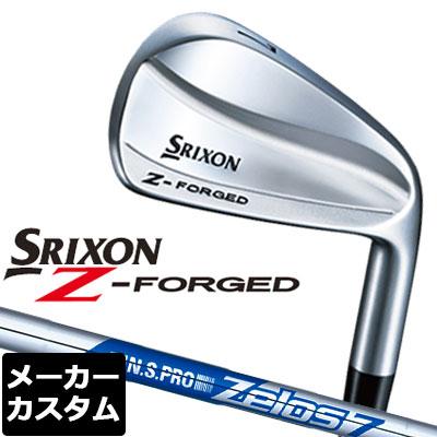 【メーカーカスタム】DUNLOP(ダンロップ) SRIXON -スリクソン- Z FORGED アイアン 6本セット(#5-PW) N.S.PRO ZELOS 7 スチールシャフト