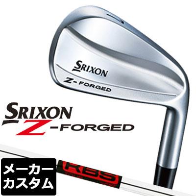 【メーカーカスタム】DUNLOP(ダンロップ) SRIXON -スリクソン- Z FORGED アイアン 単品 (#3、#4) KBS TOUR スチールシャフト
