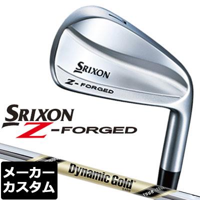 【メーカーカスタム】DUNLOP(ダンロップ) SRIXON -スリクソン- Z FORGED アイアン 単品 (#3、#4) Dynamic Gold TOUR ISSUE スチールシャフト