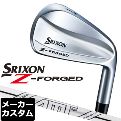 【ゲリラセール開催中】【メーカーカスタム】DUNLOP(ダンロップ) SRIXON -スリクソン- Z FORGED アイアン 単品 (#3、#4) AMT TOUR WHITE スチールシャフト