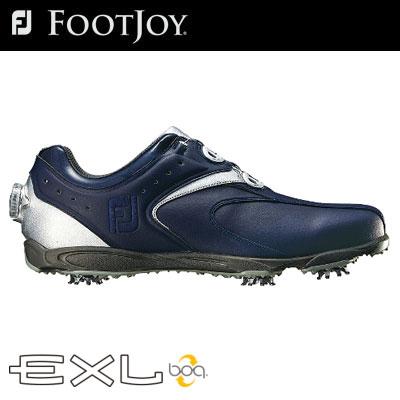 FOOTJOY(フットジョイ) EXL Boa 2016 メンズ ゴルフ シューズ 45158 ネイビー/シルバー (W)