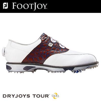 FOOTJOY(フットジョイ) DryJoys Tour Boa メンズ ゴルフ シューズ 53796 (W)