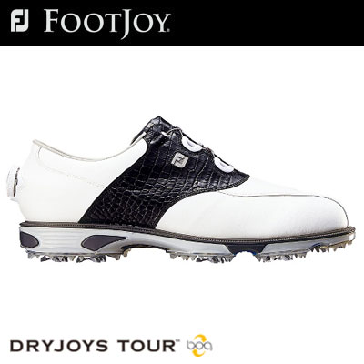 FOOTJOY(フットジョイ) DryJoys Tour Boa メンズ ゴルフ シューズ 53797 (W) **