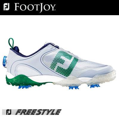 FOOTJOY(フットジョイ) FREESTYLE Boa メンズ ゴルフ シューズ 57338 (W) =