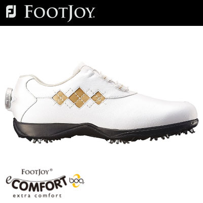 FOOTJOY(フットジョイ) eCOMFORT Boa レディース ゴルフ シューズ 98517 (W) =