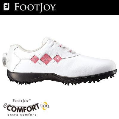 FOOTJOY(フットジョイ) eCOMFORT Boa レディース ゴルフ シューズ 98531 (W) =