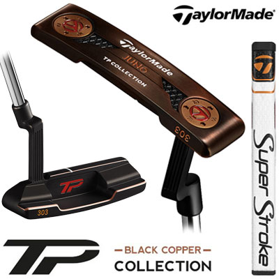TaylorMade(テーラーメイド) TP COLLECTION BLACK COPPER JUNO パター Super Stroke Pistol GTR 1.0