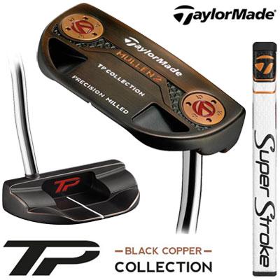 【ゲリラセール開催中】TaylorMade(テーラーメイド) TP COLLECTION BLACK COPPER MULLEN2 パター Super Stroke Pistol GTR 1.0