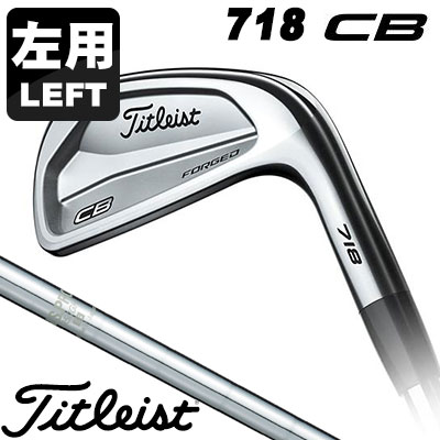 Titleist(タイトリスト) 718 CB 左用-LEFT HAND- アイアン 6本セット (#5-P) N.S.PRO 950GH スチールシャフト
