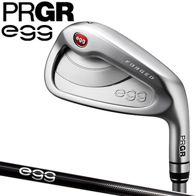 PRGR(プロギア) NEW egg FORGED 単品アイアン (#5、#6、A、As、S) 専用 カーボンシャフト