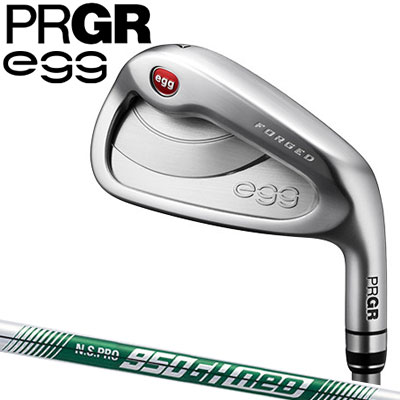 PRGR(プロギア) NEW egg FORGED アイアン 4本セット (#7~#9、P) N.S.PRO 950GH neo スチールシャフト