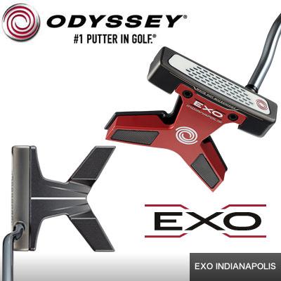 【ゲリラセール開催中】ODYSSEY(オデッセイ) EXO -エクソー- パター INDIANAPOLIS