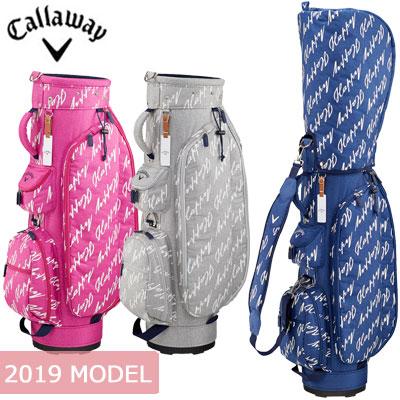 Callaway (キャロウェイ) Happy -ハッピー- レディース キャディバッグ 19 JM